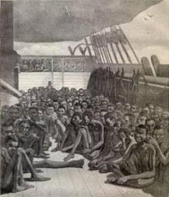Resultado de imagen para esclavos llegaron a montevideo