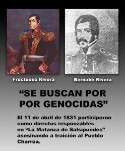 Rivera genocida...