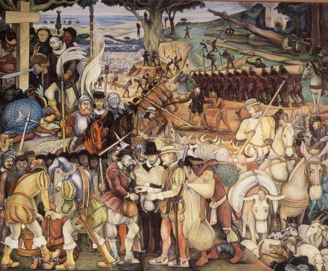 Conquista de Diego Rivera