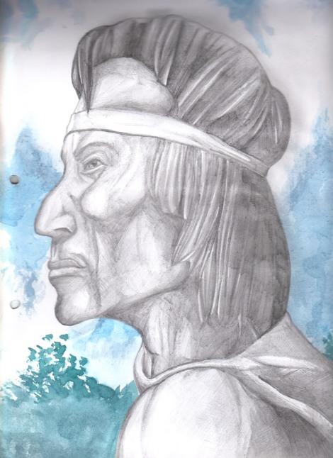 dibujo de Christian Tacuabe Acosta