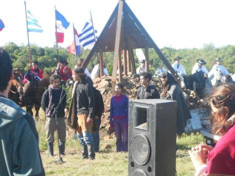 11 de abril genocidio hacia la Nación Charrua